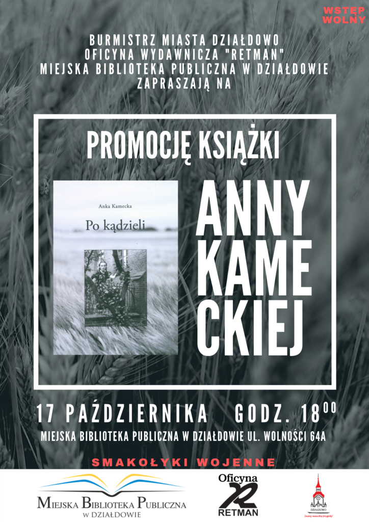 """""""Po kądzieli"""" - zapraszamy na promocję książki Anny Kameckiej"""