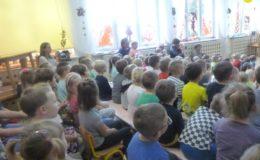 Do przedszkolaków zawitał teatr Duet