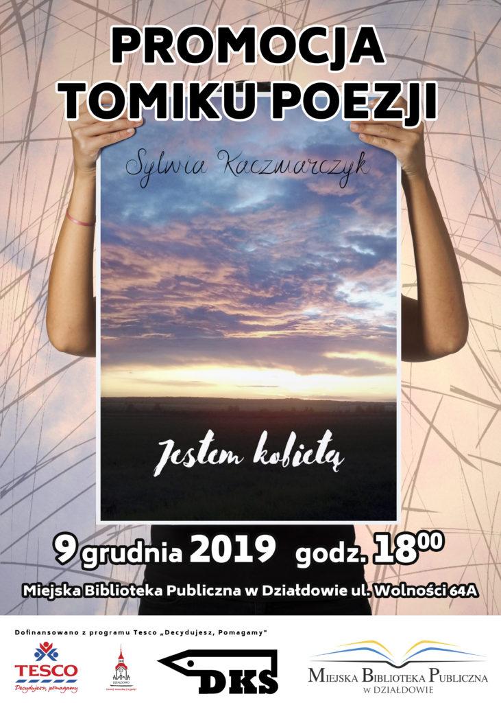 Promocja tomiku poezji Sylwii Kaczmarczyk