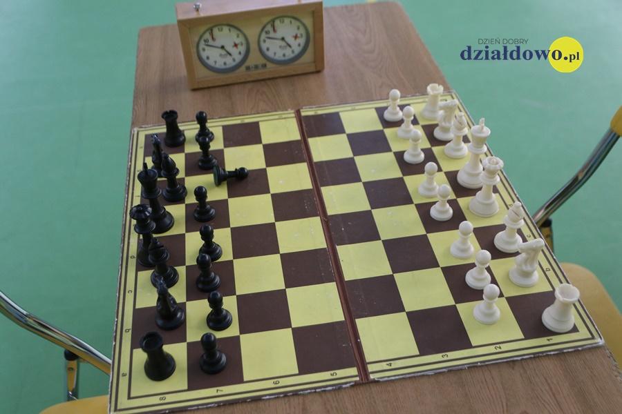 I edycja szkolnej ligi szachowej