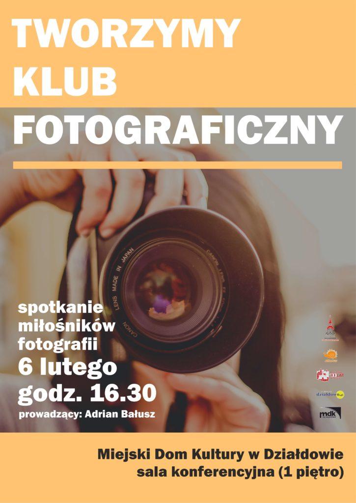 Zapraszamy na spotkanie Klubu Fotograficznego