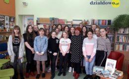 Spotkanie autorskie Elżbietą Zakrzewską w Szkole Podstawowej nr 2