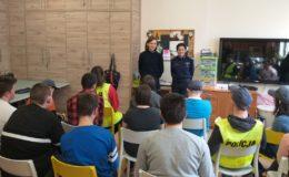 Spotkanie z młodzieżą w OREW w Działdowie – o bezpieczeństwie i służbie w policji