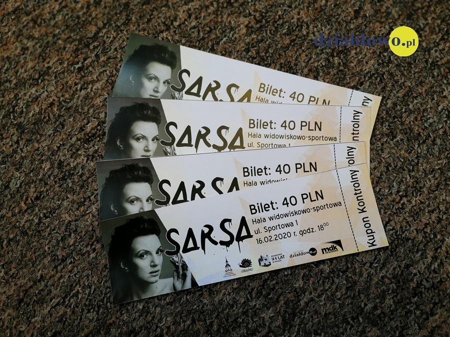Zapraszamy na koncert Sarsy