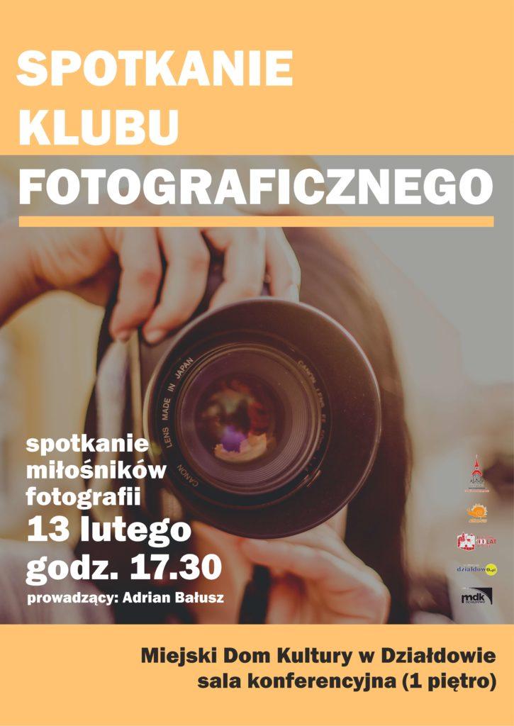 Spotkanie Klubu Fotograficznego