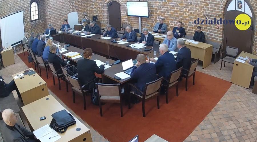 [RETRANSMISJA] XVI sesja Rady Miasta Działdowa  19.03.2020