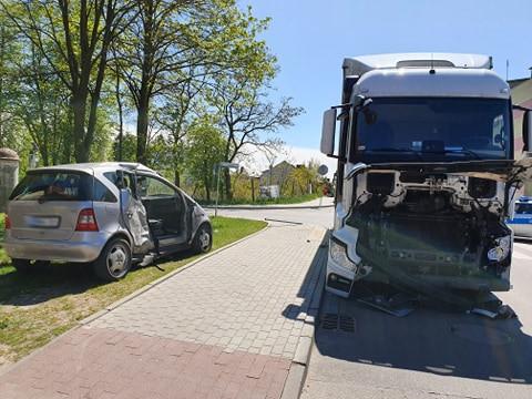 Mieszkańcy powiatu poszkodowani w wypadku w Mławie