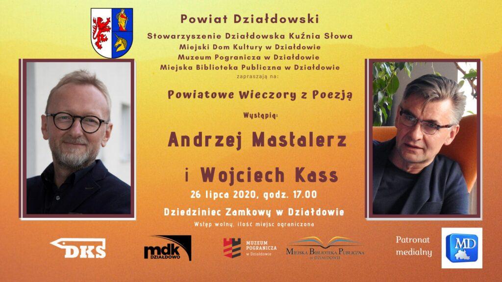 Rusza VIII edycja Powiatowych Wieczorów z Poezją. Wojciech Kass w interpretacji aktora Andrzeja Mastalerza