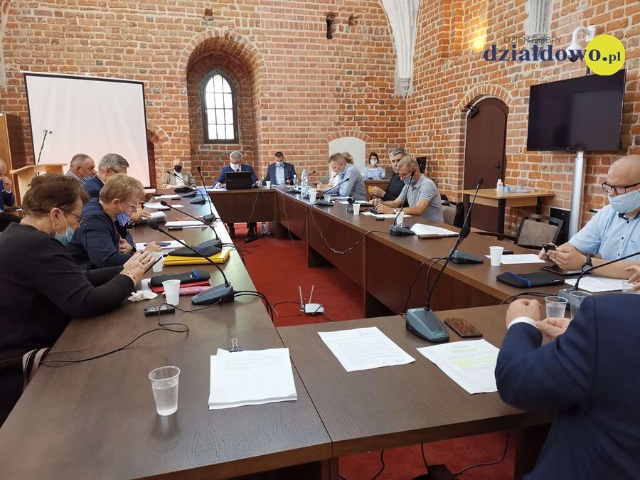 XIX sesja Rady Miasta Działdowa 30.06.2020