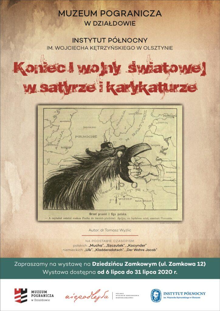 """Zapraszamy na wystawę """"Koniec I wojny światowej w satyrze i karykaturze"""""""
