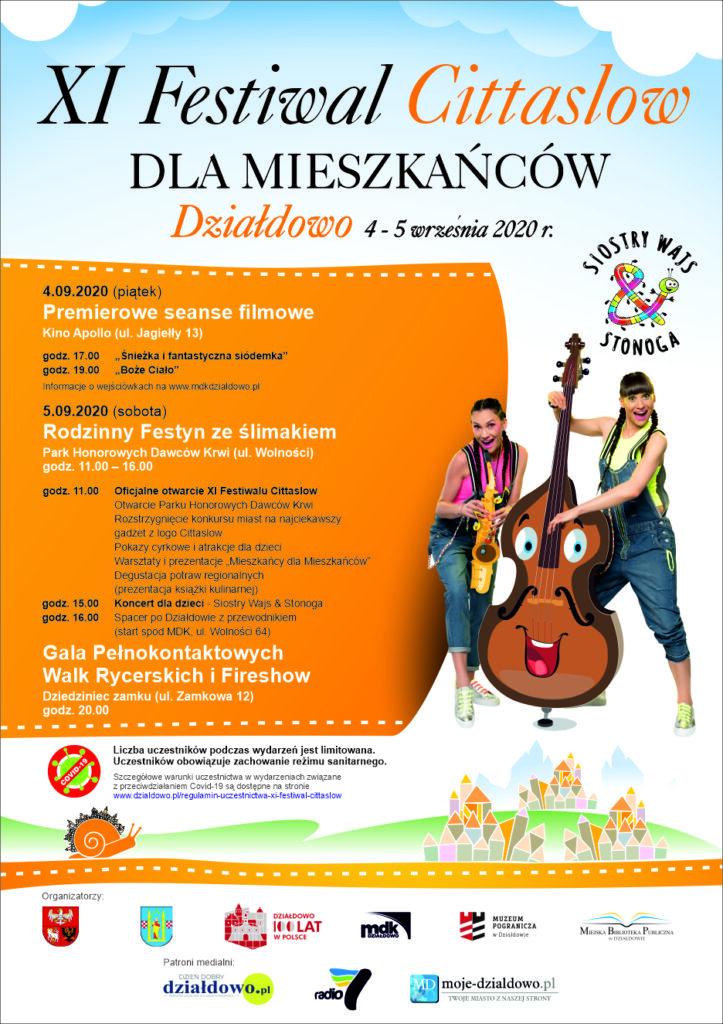 Działdowo gospodarzem ogólnopolskiego Festiwalu Miast Sieci Cittaslow
