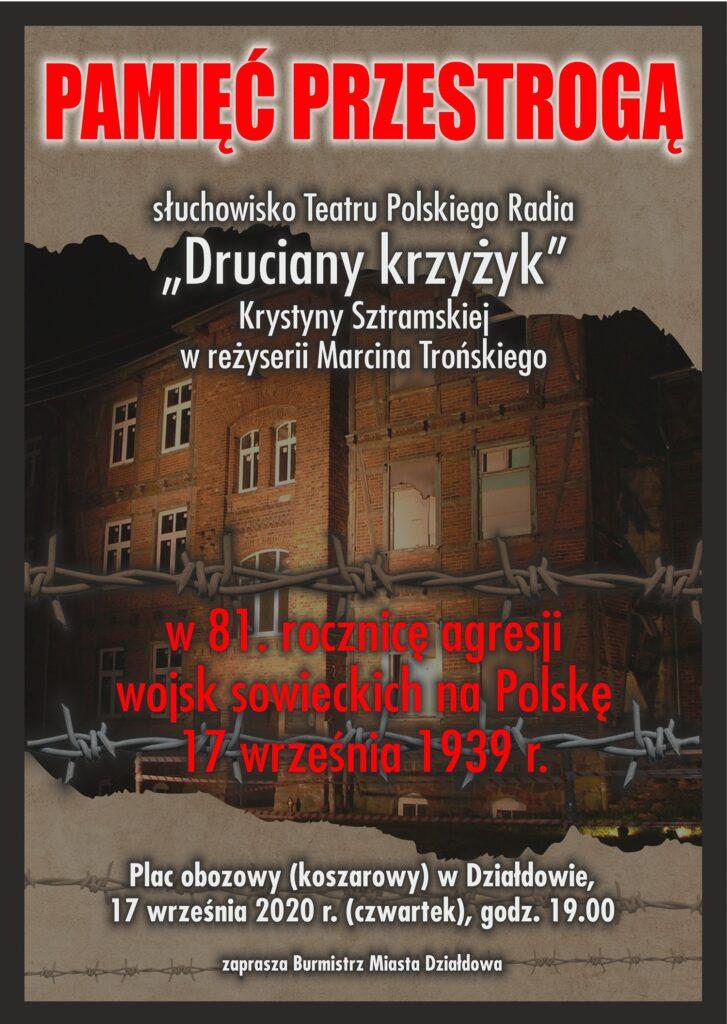 """Słuchowisko Teatru Polskiego Radia """"Druciany krzyżyk"""". Zapraszamy"""
