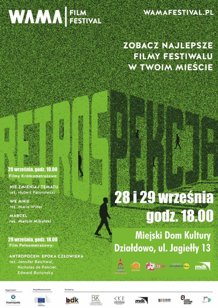 Zapraszamy na Retrospekcje WAMA Film Festival w MDK