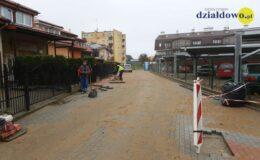 Trwa budowa drogi przy ul. Orzeszkowej