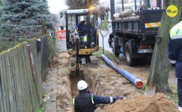 PGKiM wymienia starą azbestową sieć wodociągową na nową