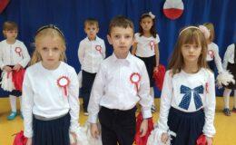 Święto Niepodległości w Przedszkolu nr 3 w Działdowie